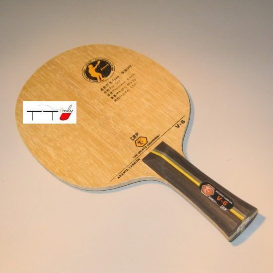 729 Table Tennis Ping Pong Aramid Carbon Blade V-6 (Arylate)