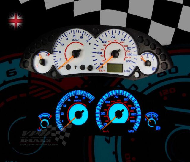 Ford Focus mk1 petrol interior speedo rev gauge panel dash bulb light kit