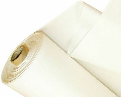 Blackout Thermal Lining Fabric Material 3 PASS WHITE & IVORY - SOLD PER METRE