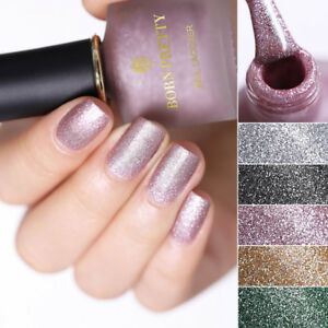 BORN-PRETTY-6ml-Pearlescent-Matte-Nail-Art-Varnish-Glitzer-Nagel-Polish-Manikuere