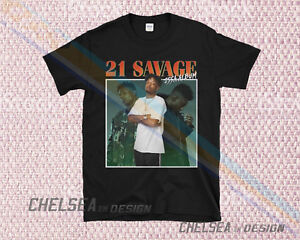 Inspired By 21 Savage Issa Album T Shirt Merch Tour Limited Vintage