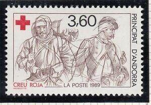 Europe Stamps La Descente De La Croix Timbre Andorre France Neuf N° 186