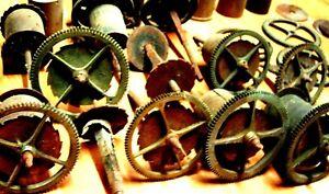 Objectif Lot Barillet Piece Fourniture Horloge Comtoise Coq Clock Morbier 18 19 Xviii Eme