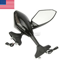 Motorcycle Turn Signals Mirrors Fit Triumph Daytona 675 2009 2010 2011 675r 2011