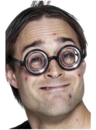 Nerd Lunettes Specs Bug Eye Geek Amplifier École Disco Pour Déguisement