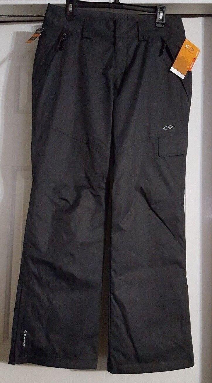 Nuovo Uomo Gris Champion Venture Loft & Resist Dry Warmer Wind Resist & Snow Pants Small ee9bc2