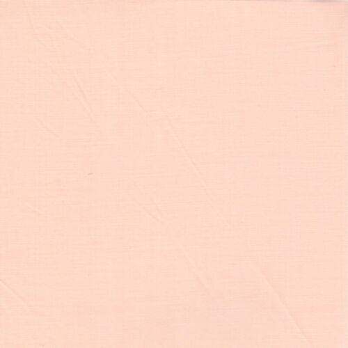 Plain Poly Coton-Abricot-Check fabric