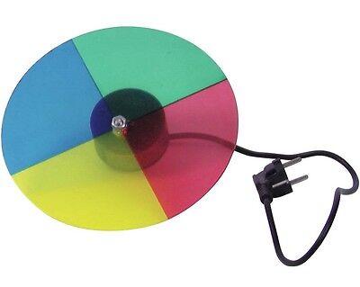 Farbrad mit Motor für Punktstrahler EUROLITE Farbscheibe PIN-Spots PAR 36