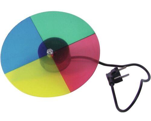 4 couleurs farbscheibe roue chromatique avec moteur pour point projecteur pin-spots par 36 NEUF