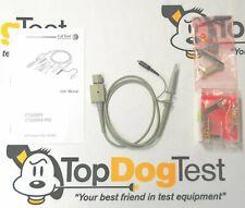 Tektronix//Keysight Oscilloscope Probe Tip NEW Ten to BNC Adapters 10 5mm