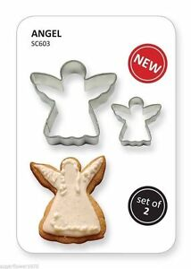 Details About Pme Set Of Angel Cutters Christmas Cookies Cake Decorating Fast Despatch