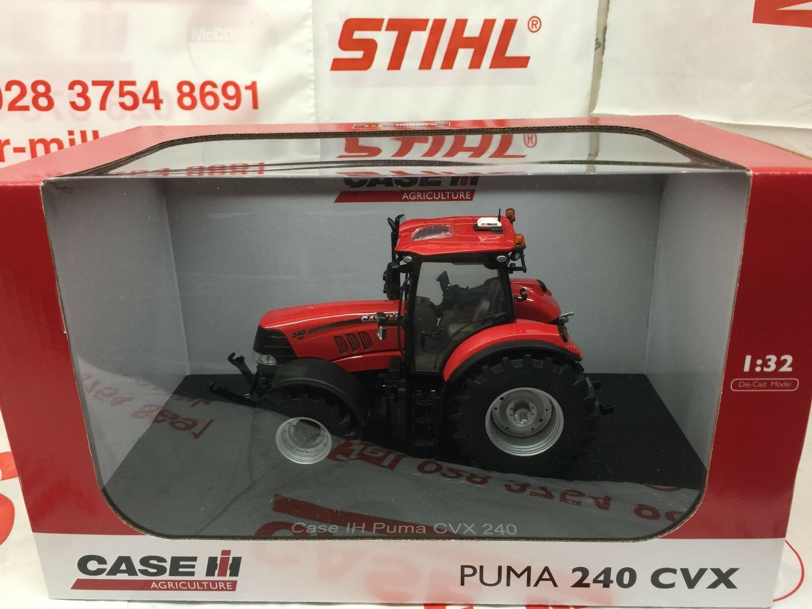Universal Hobbies UH4911 CASE IH Puma 240 CVX Tracteur 1 32 Replica Diecast Toy