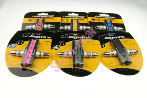 Jagwire Mountain Sport JS908T V Brake Brake Shoes Brake Pads for MTB