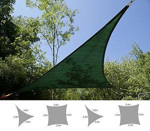 Image is loading Kookaburra-Green-Party-Shade-Sail-Sun-Canopy-Patio- & Kookaburra Green Party Shade Sail Sun Canopy Patio Awning Garden ...