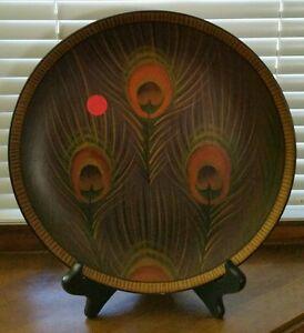 ... Raymond-Waites-Decorative-Plate-Peacock-Designed-for-Toyo- & Raymond Waites Decorative Plate Peacock Designed for Toyo Trading ...