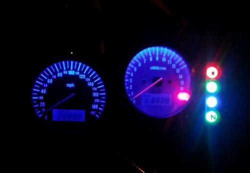 led clock upgrade kit lightenUPgrade RED Gsxr SRAD 600 750