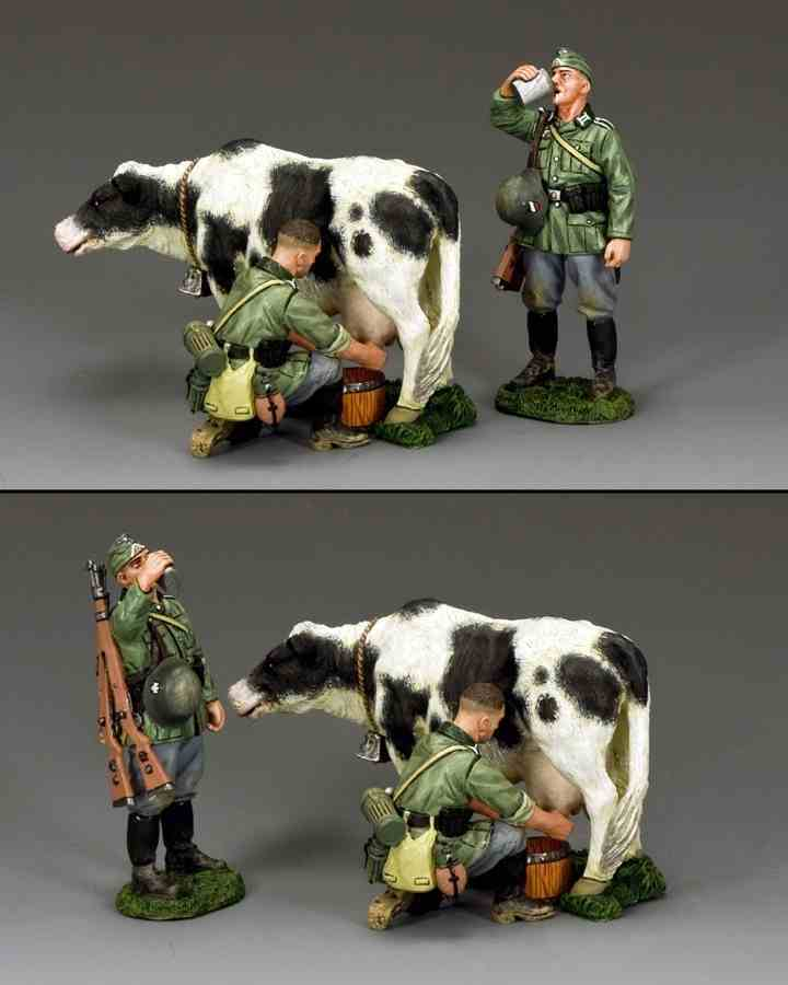 KING AND COUNTRY Fresh Milk Today  WW2 German WH001 WH01