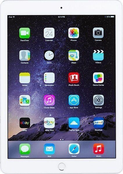 Apple iPad Air 2 64GB, Wi-Fi + Cellular (Unlocked), 9.7in - Silver MH2N2LL/A
