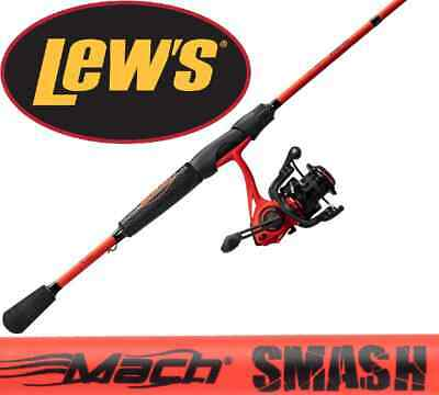 "Lew/'s WG1056M-2 American Hero We Go 2 Piece Speed Spinning Combo Medium 5/'6/"""