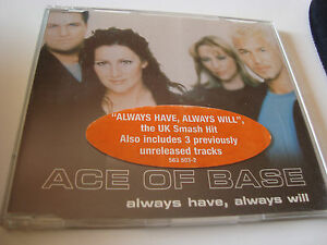RAR-MAXI-CD-ACE-OF-BASE-ALWAYS-HAVE-ALWAYS-WILL-STICKER