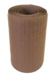 1m-Cinta-cierre-coser-100mm-marron-pincho-fijacion-agarre-textil-equipo-militar