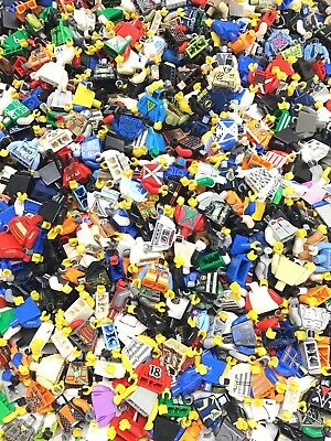 LEGO LOT OF 20 MINIFIGURE LEG PIECES RANDOMLY SELECTED PANTS PEOPLE BODY PARTS