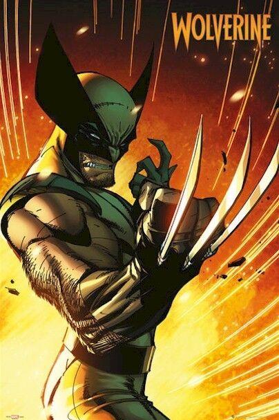 WOLVERINE ~ WEAPON X VARIANT 24x36 ART POSTER Marvel Comic Book J Scott Campbell