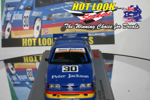 1:43 Glen Seton Ford EB Falcon Missing Vinyl Decals 1993 ATCC Champion Biante