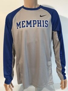 c7a7afd6c NEW Memphis Tigers Nike Elite B-Ball Shooter Shirt Men's Large L L/S ...