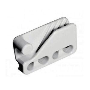 Taquet coinceur pour cordage de 6 à 11 mm Clamcleat CL 234 BLANC