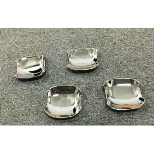 4pcs Car ABS Chrome Side Door Handle Bowl Cover Trim  for  Camry 2018