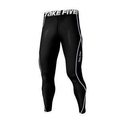 Takefive 011_Men's Compression Pants Skin tights Sportswear Warm underwear S~3XL