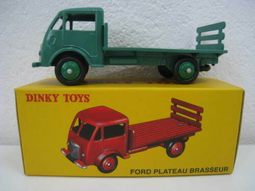 FORD plateau Brasseur in verde DINKY TOYS 1:43 OVP NUOVO