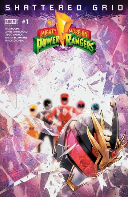 MIGHTY MORPHIN POWER RANGERS 1 2016 1st PRINT MAIN COVER NM