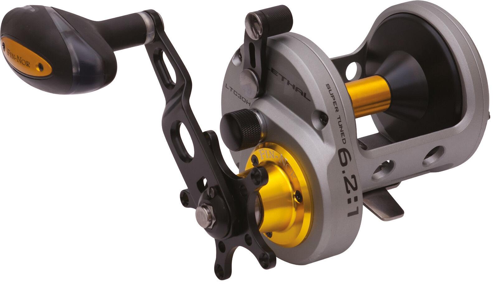 Fin Nor Lethal LTC LTC LTC H Multiplier Fishing Reel - All Größes 47cad3