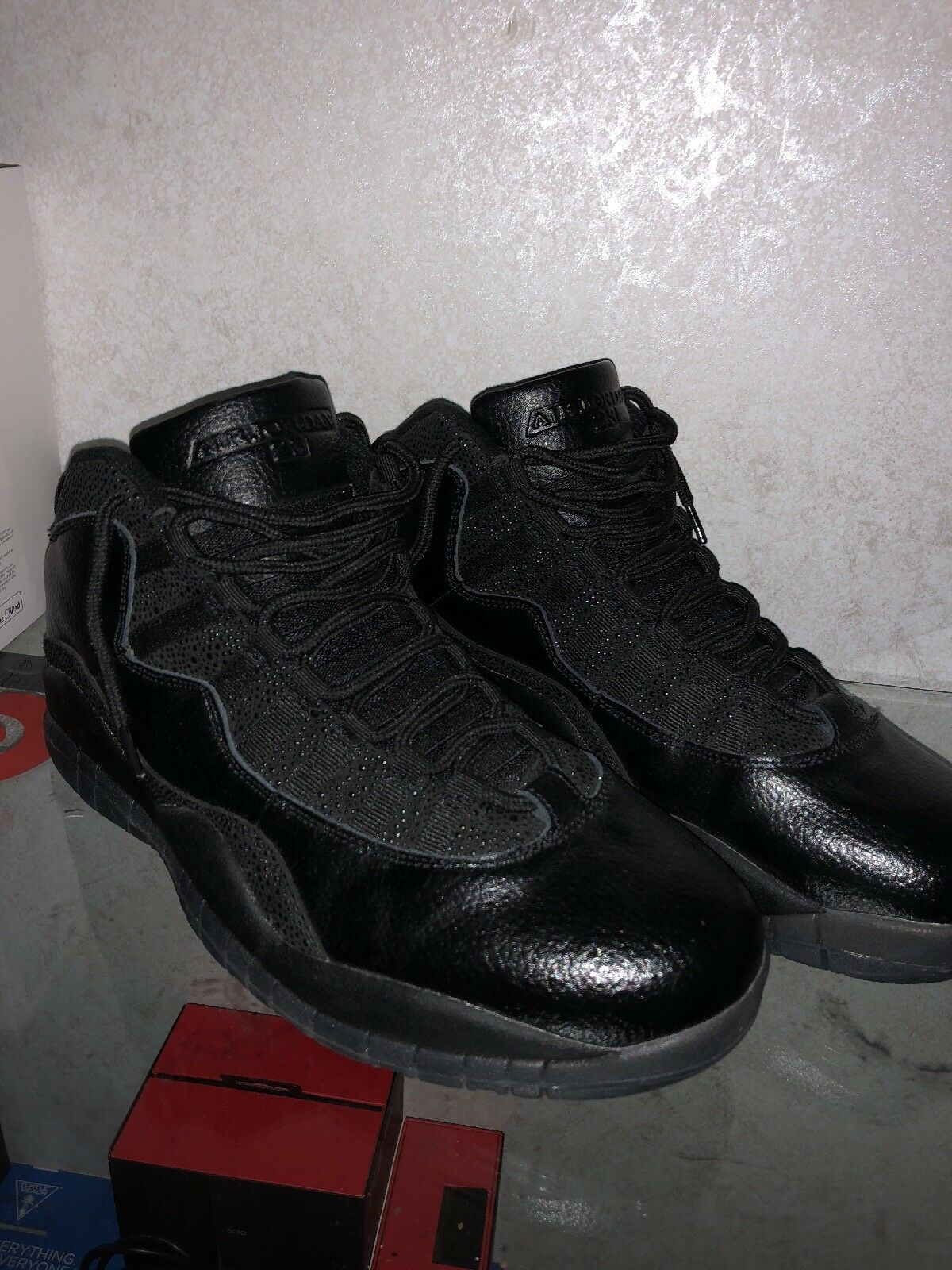 OVO JORDAN 10 nero Dimensione 11 (LIMITED EDITION)