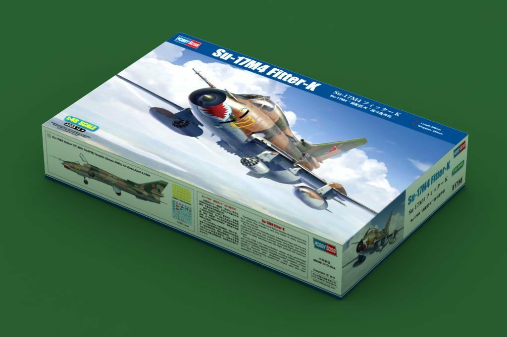 Hobby Boss 81758 SU-17M4 Fitter-K Fighter-Bomber BomberPlane Model 1 48 Scale