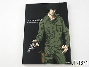 Psycho-Pass-Official-Profiling-2-Japanese-Artbook-Japan-Guide-Book-US-Seller