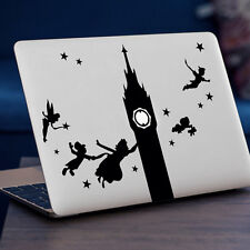 """PETER PAN Apple MacBook Decal Sticker fits 11"""" 13"""" 15"""" and 17"""" models"""