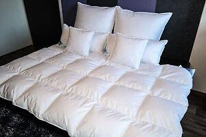 Bettdecke Daunenbett Decke Kassettenbettdecke 1000g Füllung 60