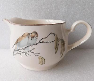 Birds ceramic milk jug Country Diary of an Edwardian Lady Noritake vintage 1970s