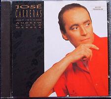 Jose CARRERAS: ANDREW LLOYD WEBBER Memory Phantom of the Opera Starlight Cats CD