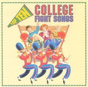 Top Ten College Fight Songs by Various Artists (CD, Oct-1993, K-Tel (USA))