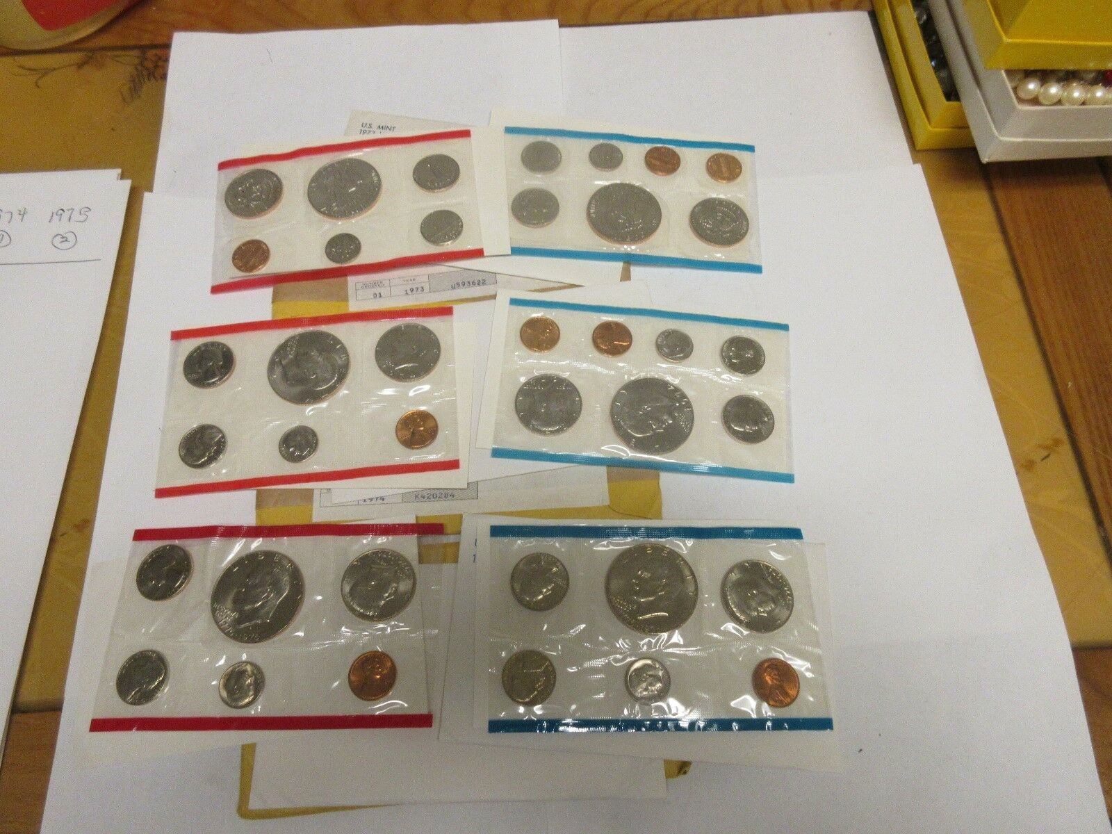 United States Mint Uncirculated Sets ,1975