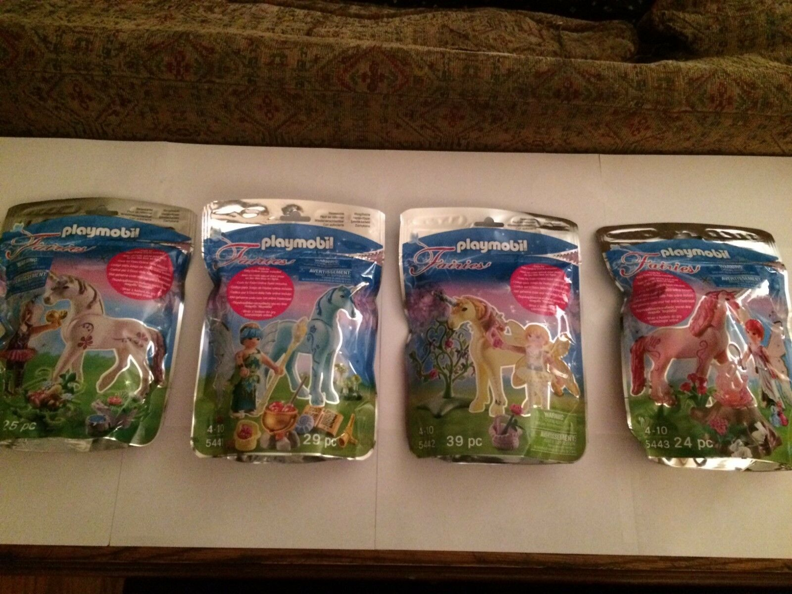 Playmobil Fairies Set tutti  4    5440, 5441, 5442, 5443 nuovo in Sealed borsas   senza esitazione! acquista ora!