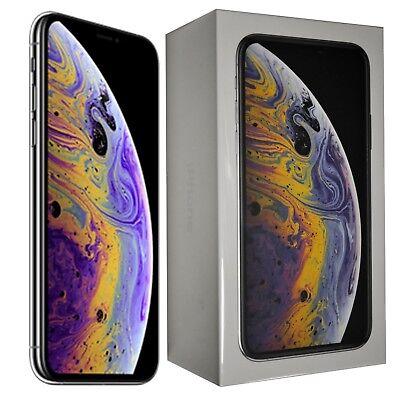 """BNIB 5.8"""" Apple iPhone XS 64GB A2097 Silver MT9F2B/A Factory Unlocked 4G SIMFree"""