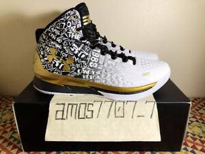 b8d90c3baa86 Under Armour Curry 1 2 B2B MVP Back 2 Back White Gold 1300015 001 ...