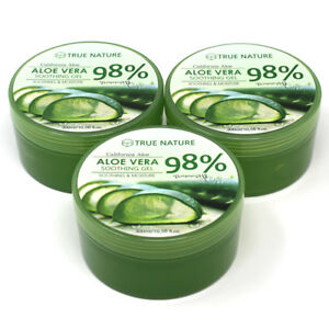 3-PACK-Aloe-Vera-Gel-for-Face-amp-Body-Soothing-amp-Moisture-300ml-10-58oz-BULK