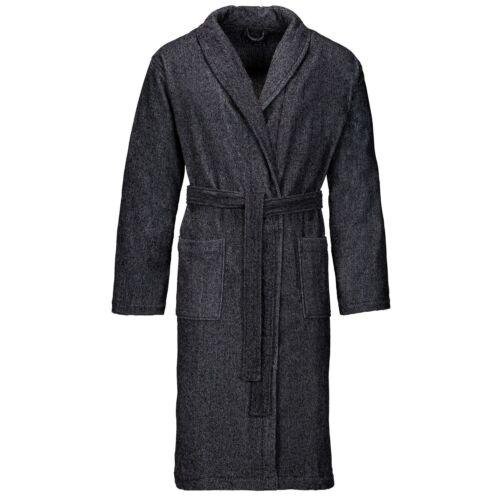 col pour Vossen sauna MD sauna Manteau avec Velour masculin anthracite châle de fq7XrU7W8w