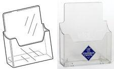 A5 Freestanding Leaflet Dispenser menu brochure price list acrylic OW4030